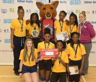 London Youth Games 2013 winners