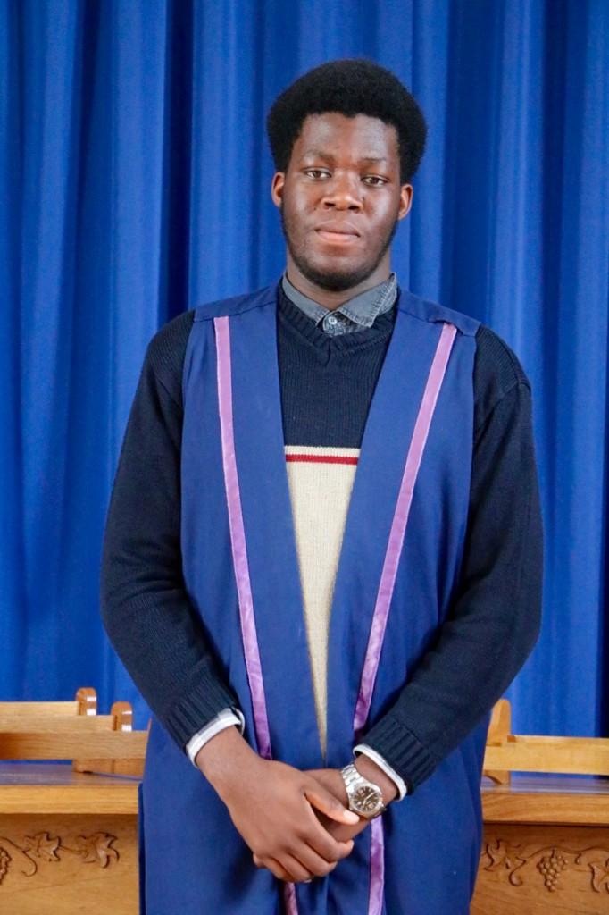 Babatope Alabi Deputy Head Boy