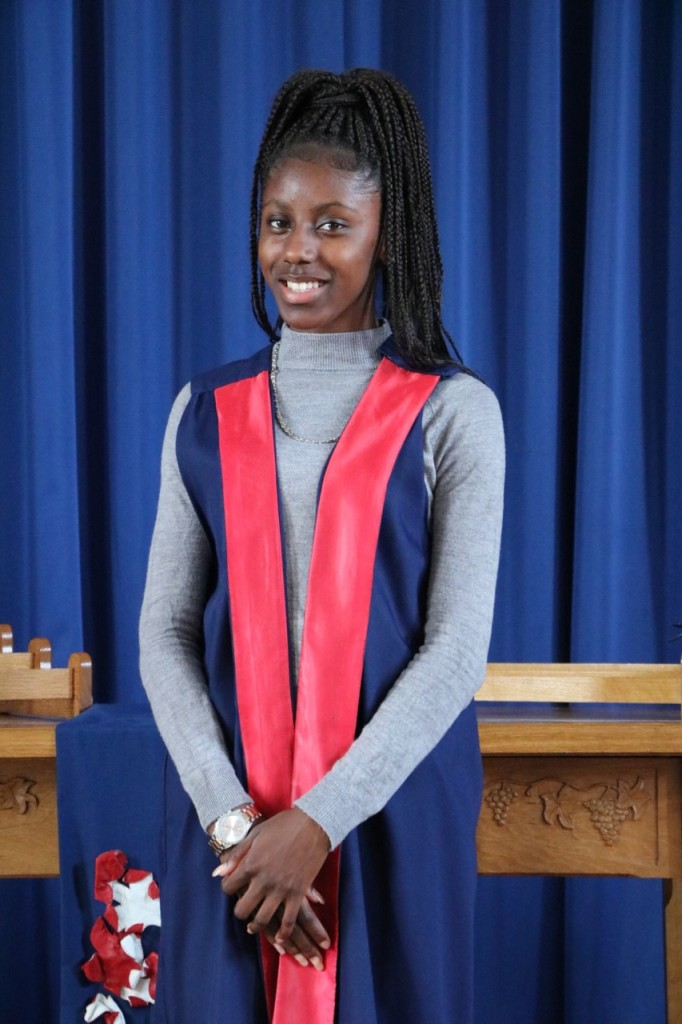 Shante Newell Mullings Headteachers Prefect