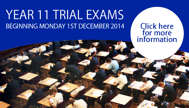 Year 11 Trial Exams