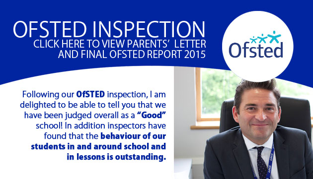 Ofsted Inspection 2015